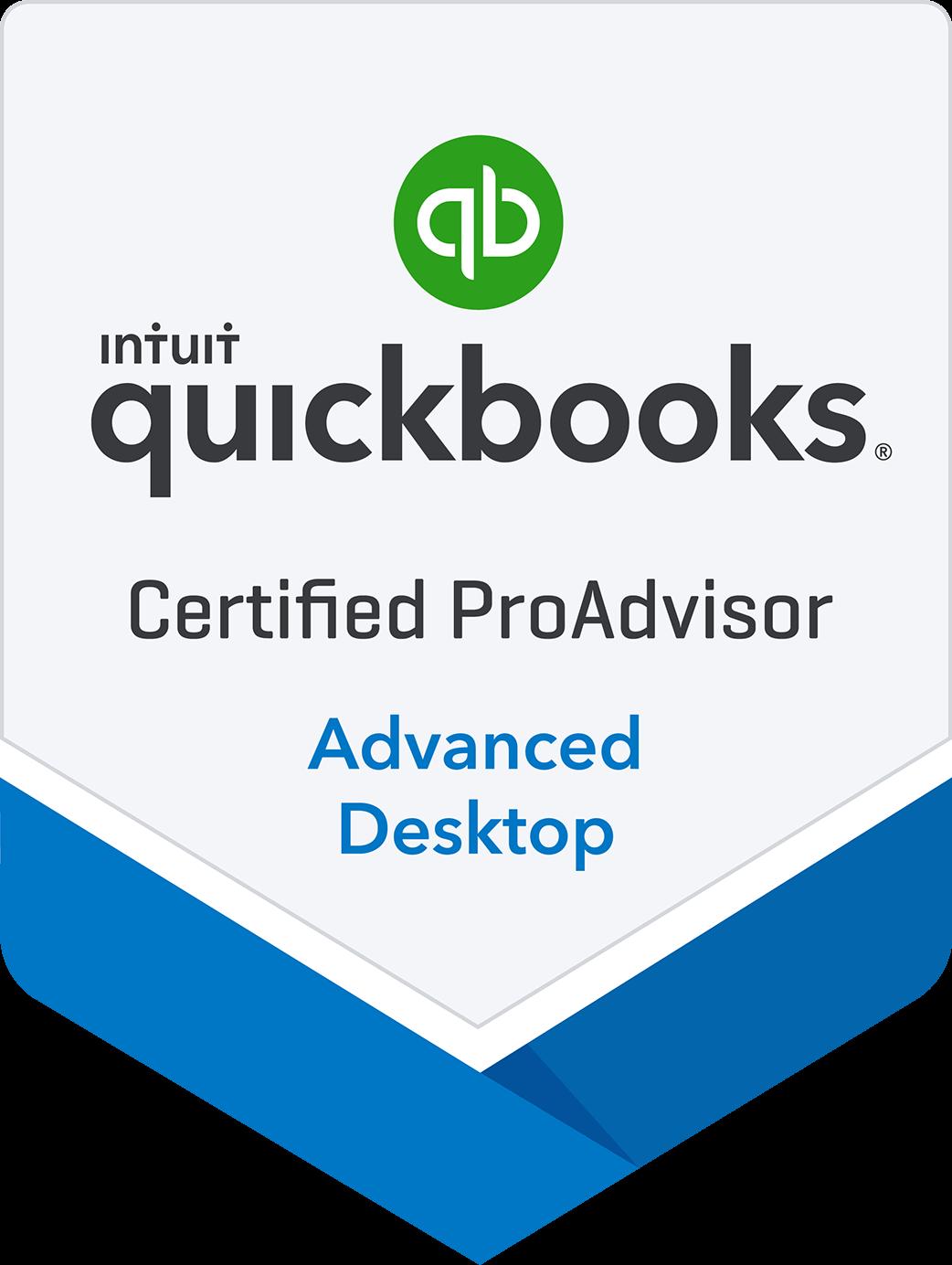 Certified Advanced QuickBooks Desktop Proadvisor in New York, Long Island, Nassau & Suffolk Counties, Queens, and Brooklyn